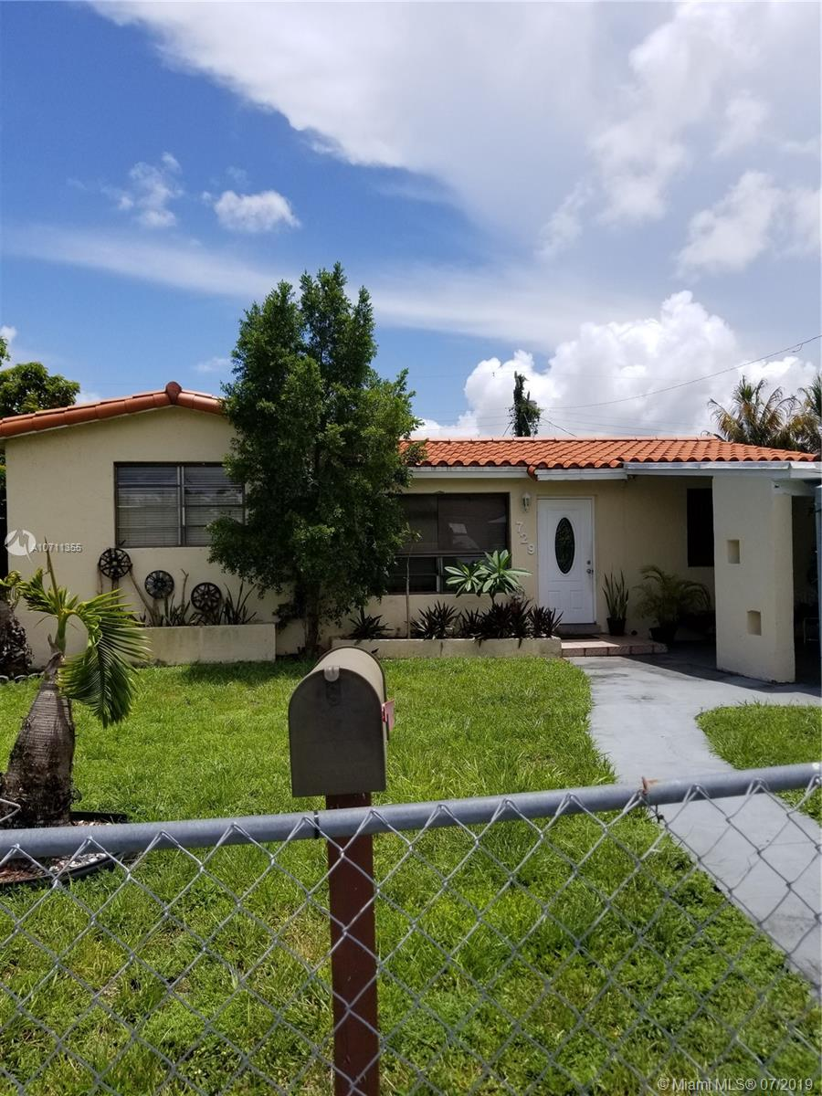 729 NW 1st Ct  For Sale A10711355, FL