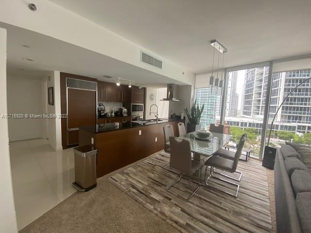 STUNNING WATERFRONT 2 BEDROOM 2 BATH UNIT IN THE HEART OF BRICKELL WITH BREATHTAKING AND PANORAMIC VIEWS OF THE POOL AND BAY FROM SUNSET TO SUNRISE. UNIT FEATURES BEAUTIFUL KITCHEN WITH STATE OF THE ART STAINLESS STEEL APPLIANCES, GRANITE COUNTERS, HIGH GRADE CABINETS AND UPGRADED BATHS. LUXURY BUILDING WITH 5 STAR AMENITIES FOR YOUR ENJOYMENT. DON'T MISS THIS AMAZING OPPORTUNITY!! CURRENTLY RENTED UNTIL 9/30/2021 FOR $2,950