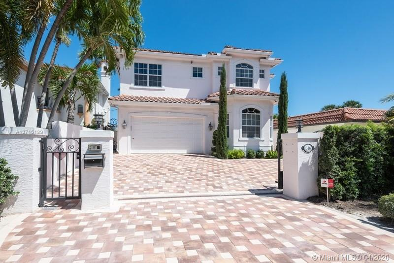 This is the closest alternative to a new home in the Las Olas Isles. Dock up to 40' boat. Dock and seawall w/electric/lighting are new. Minutes to ICW. Brand new resort style Pool/Spa with limestone deck, brand new paver driveway. Home boasts: 3,865sf under air, California Oak floors, Impact Glass, elegant closet cabinetry, Elevator, 300 Bottle Wine Room, Whole-House generator, charging station for Tesla, 3 A/C units. Top of line kitchen, 6-burner gas stove, Sub-Zero, Quartz tops. Bathrooms have 'Restoration Hardware' cabinetry & fixtures, Italian Carrara marble. Large 3rd bdrm can be divided by Seller to be a 4 bedroom home. Property secured w/retractable gate & walled. For those who desire new construction. Terrific Las Olas. Owner financing considered.  Please view the 3D Virtual Tour.