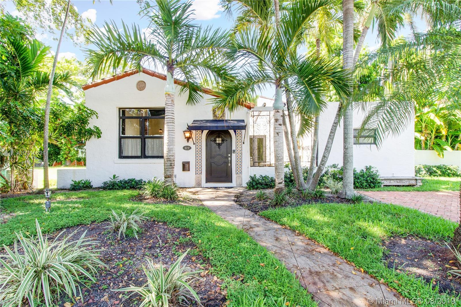 322  Viscaya Ave  For Sale A10716691, FL