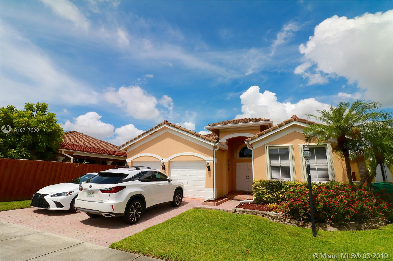 4536 NW 95th Ave  For Sale A10717030, FL