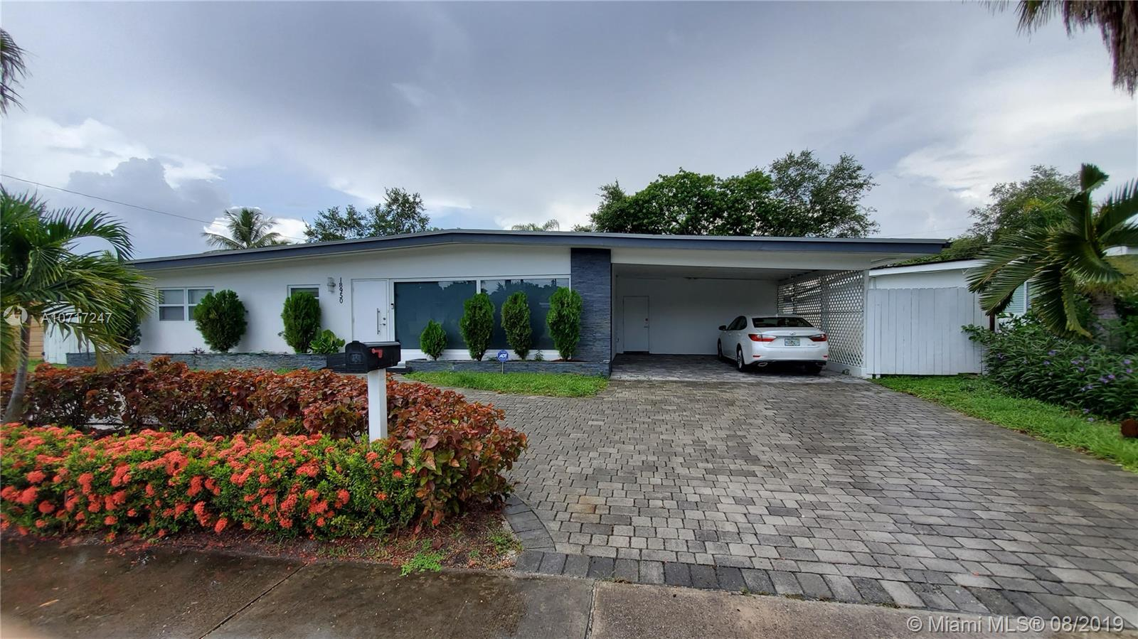 18950 NE 20th Ct  For Sale A10717247, FL