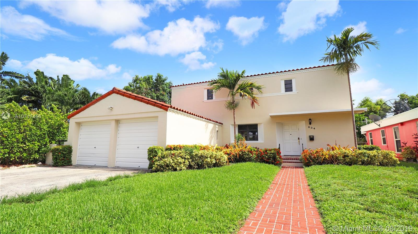 834 W 47th St  For Sale A10717456, FL