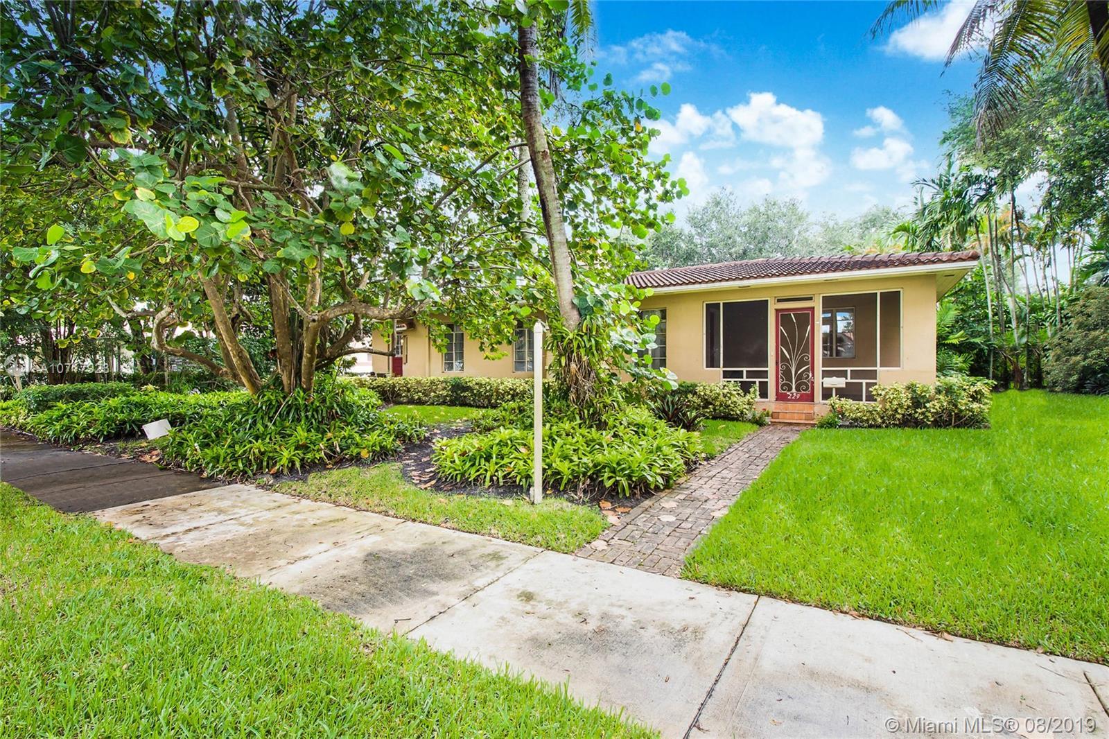 229 NE 101st St  For Sale A10717923, FL