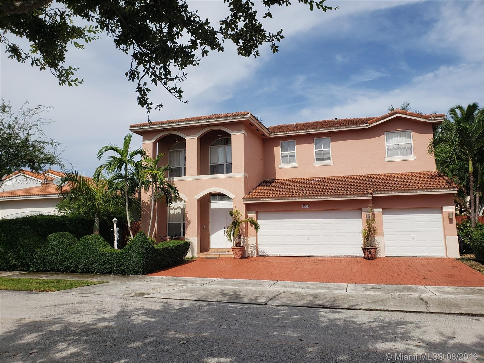 6331 SW 158th Ct  For Sale A10716668, FL
