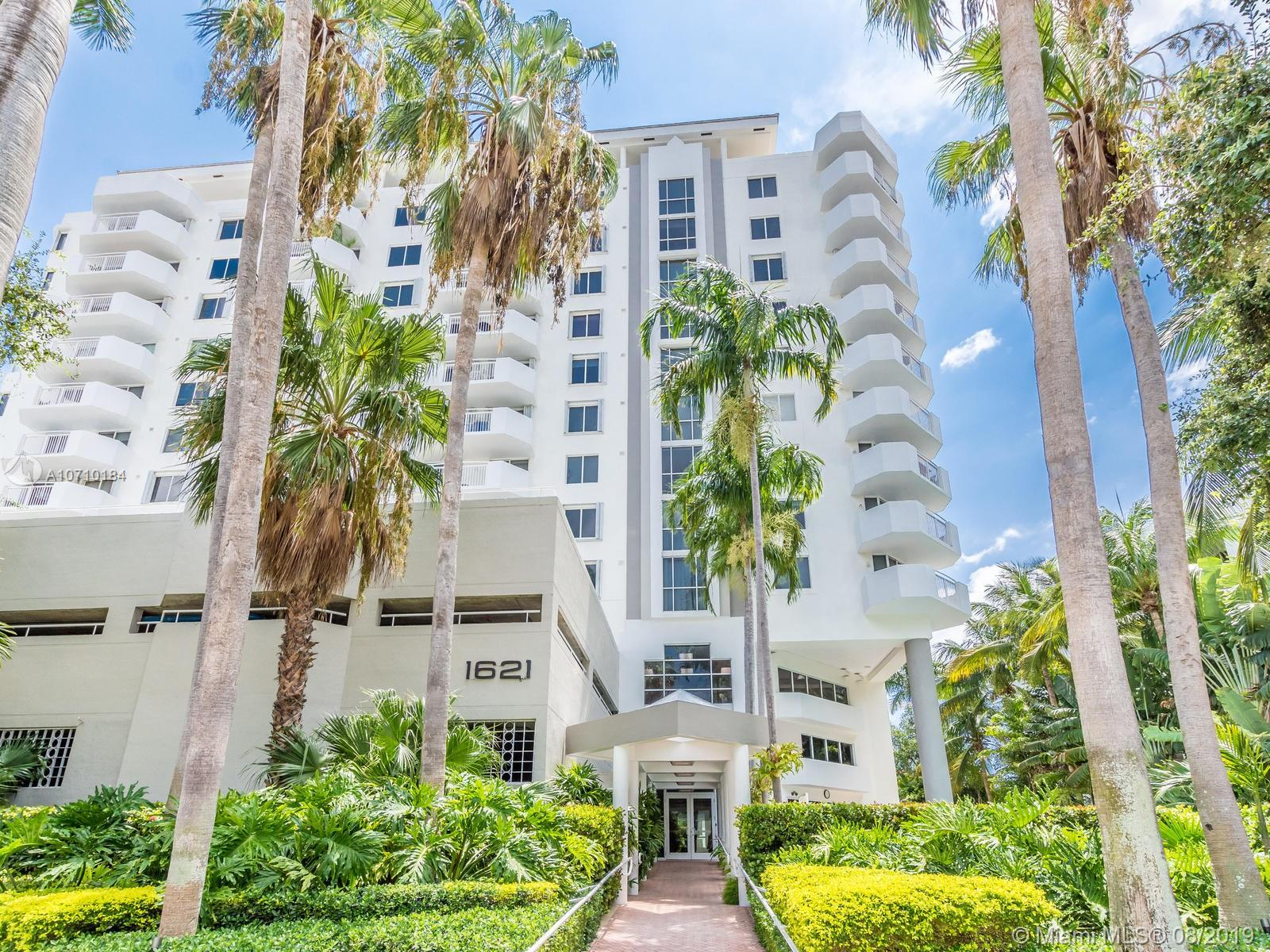 1621  Bay Rd #502 For Sale A10710184, FL