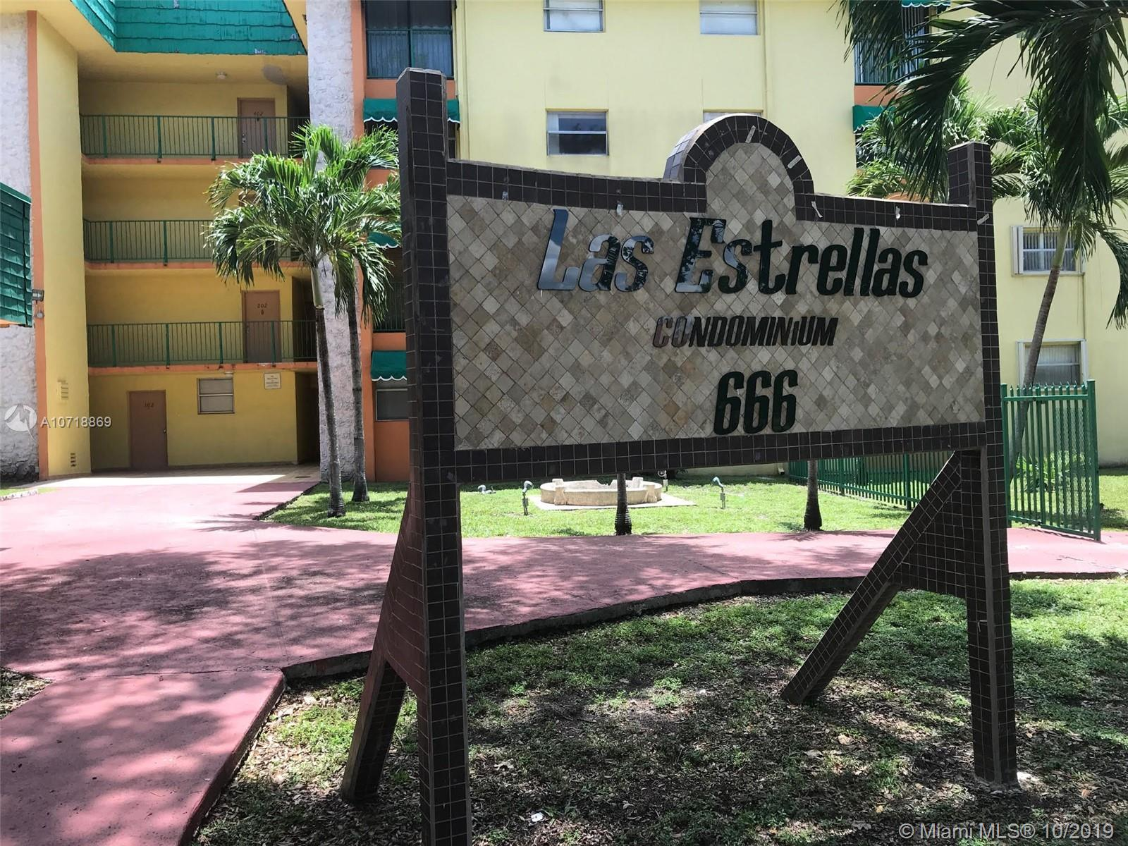 666 W 81st St #102 For Sale A10718869, FL