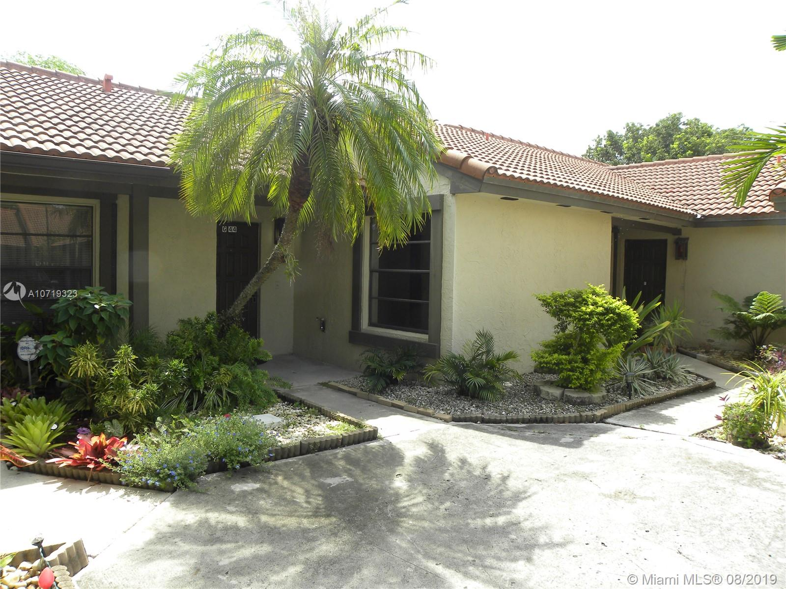 4855 SW 152nd Ct #G44 For Sale A10719323, FL