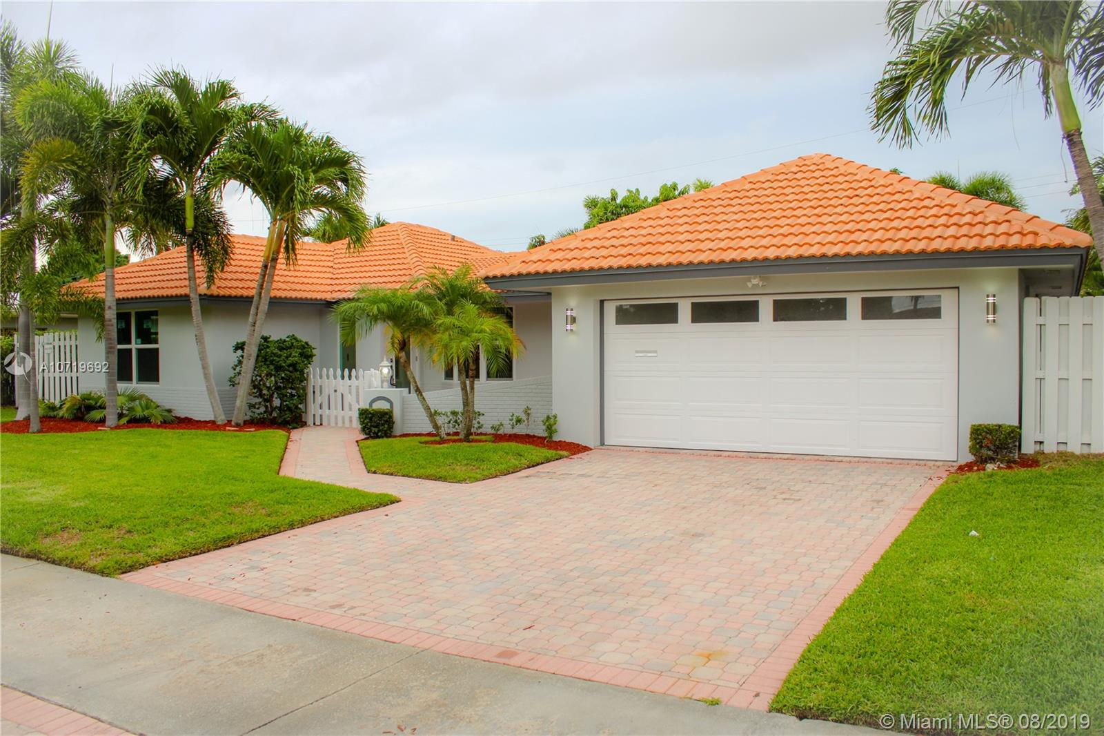 Single family home in Imperial Point, just minutes from the beach and restaurants at Lauderdale by the Sea. This 3 bedrooms 2 bathrooms and 2 car garage has desirable open floor plan with plenty of natural light plus an amazing backyard with a pool and outdoor gas grill to entertain the whole family. You have pool view from almost every room of the beauty. Imperial Point is a cozy neighborhood in east Fort Lauderdale, Florida and is conveniently located within walking distance to parks, casual restaurants and shopping. Hurry up because this unique opportunity won't last long!