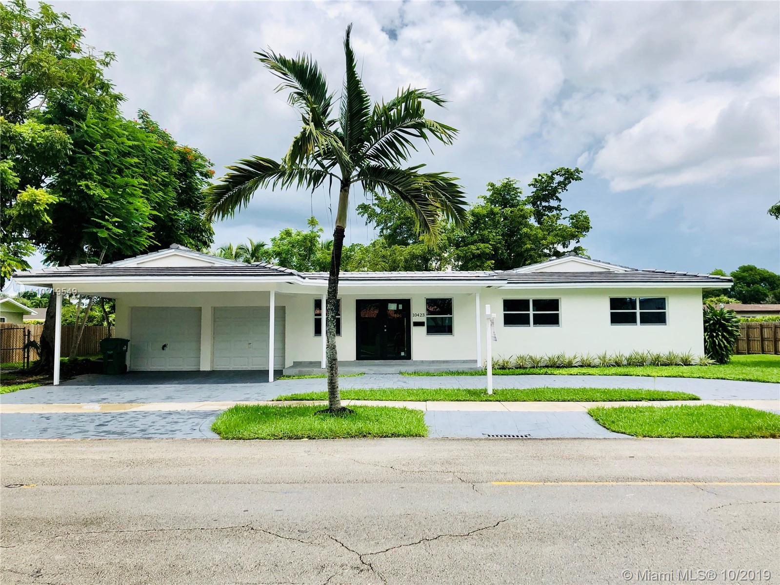 10423 SW 120th St  For Sale A10719549, FL