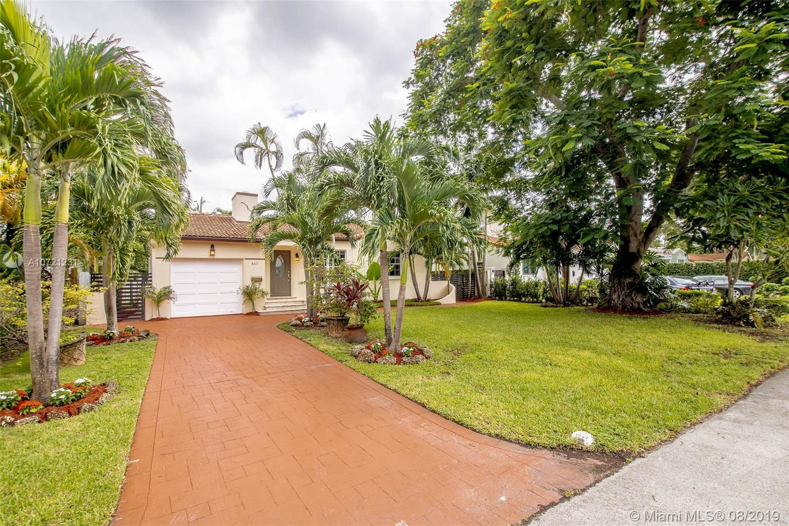 865 NE 74th St  For Sale A10721231, FL