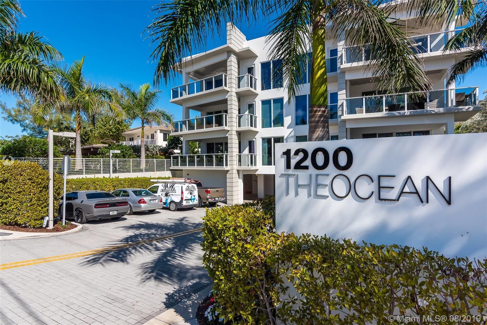 1200  Hillsboro Mile #1301 For Sale A10721396, FL
