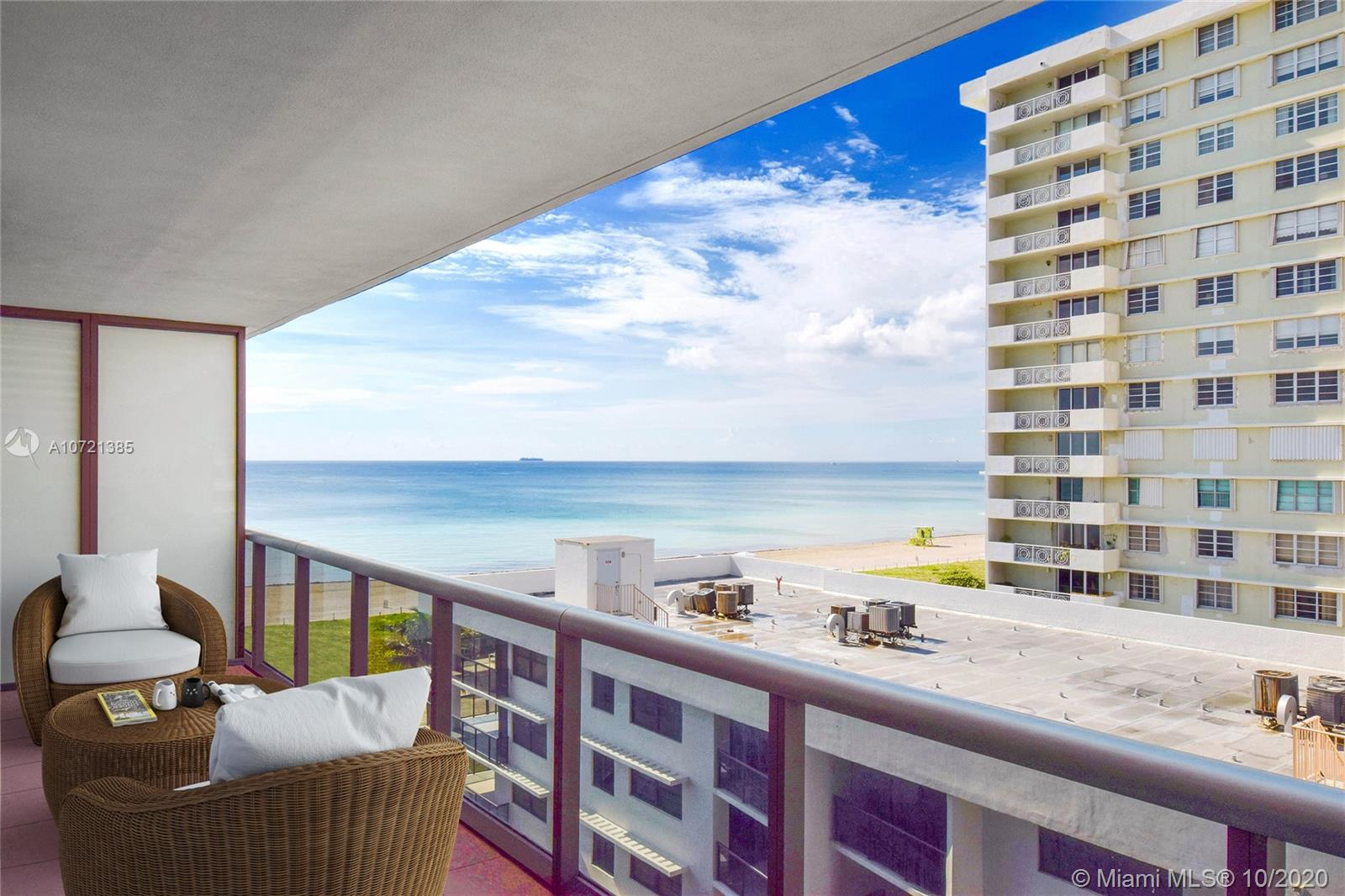 5875  Collins Ave #804 For Sale A10721385, FL