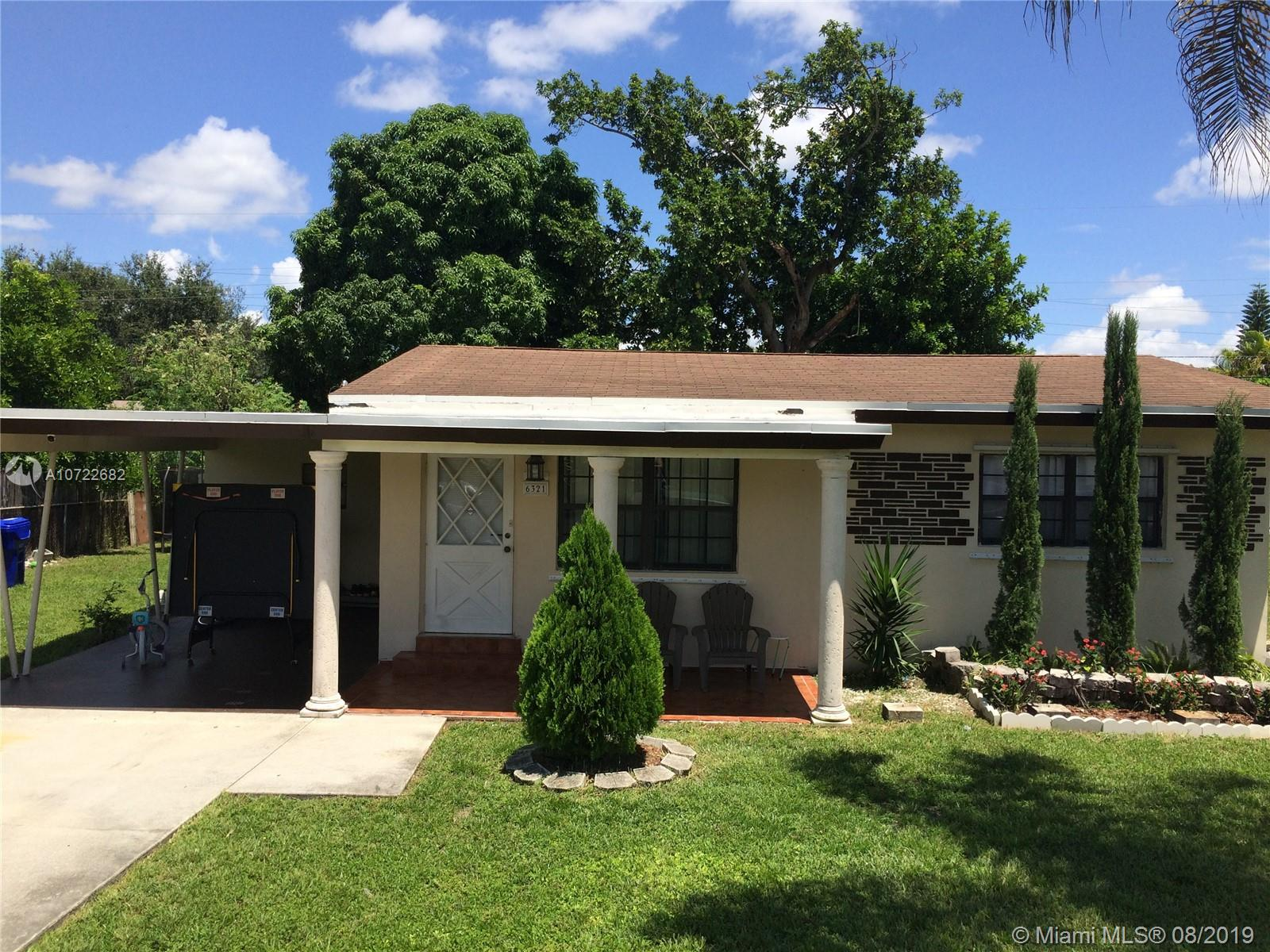 6321  Dewey St  For Sale A10722682, FL