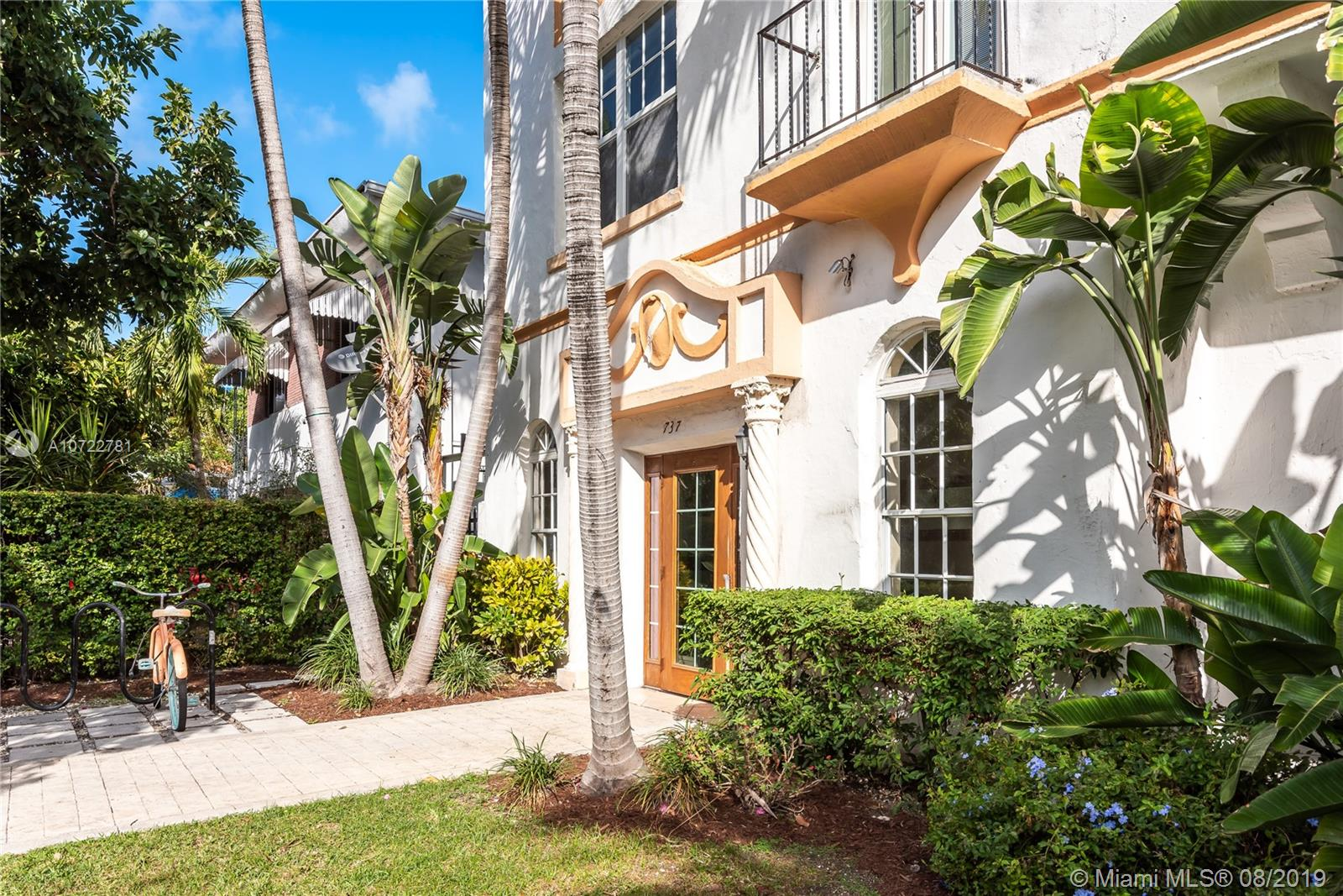 737  Jefferson Ave #104 For Sale A10722781, FL
