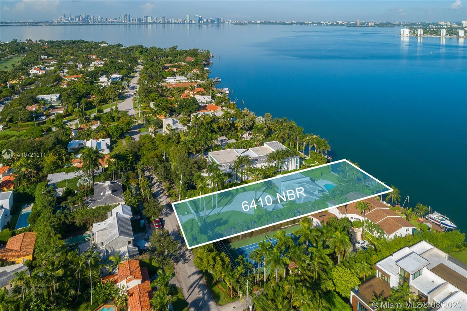 6410 N Bay Rd  For Sale A10721211, FL