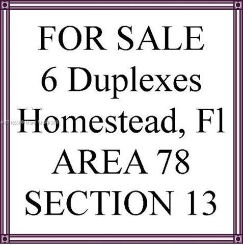 1341 NW 13th St, Homestead, FL 33030