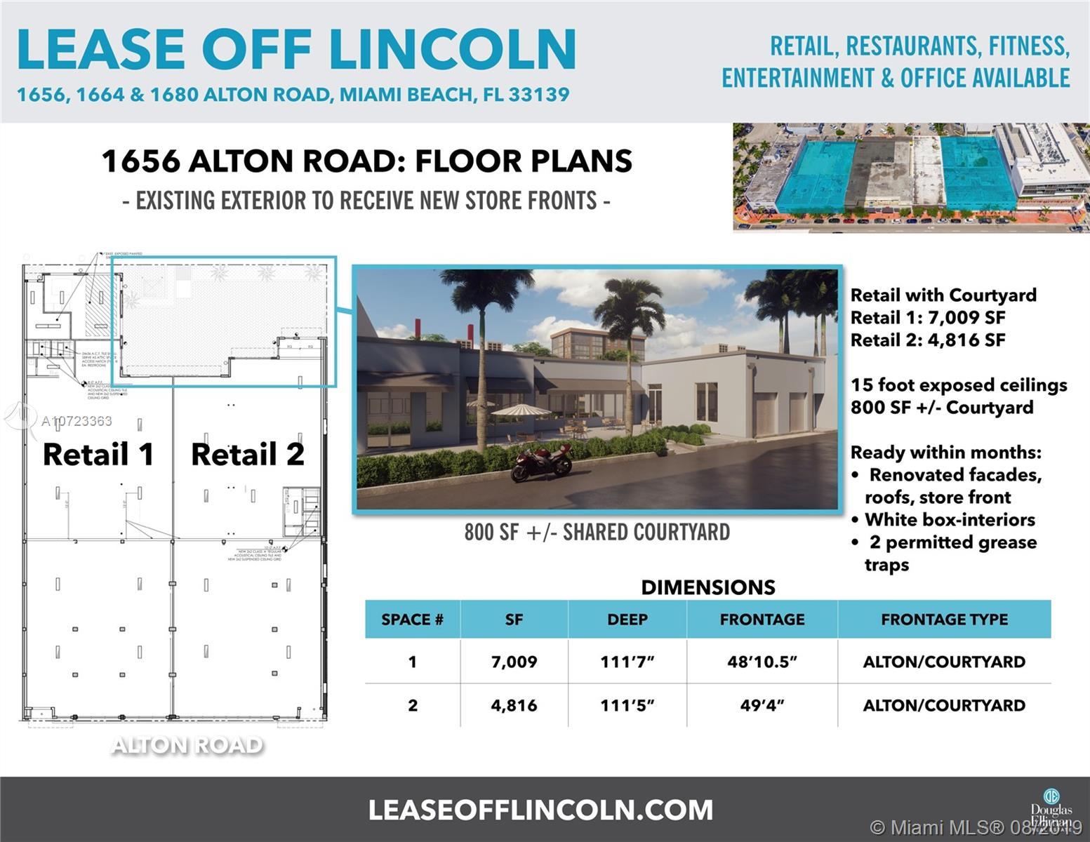 1656  Alton Rd  For Sale A10723363, FL