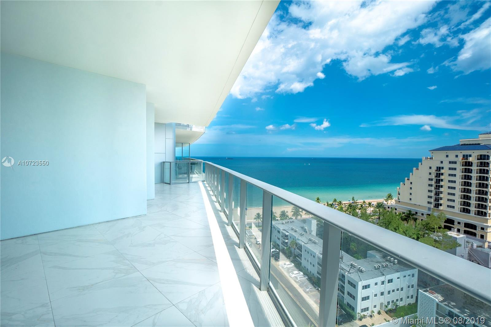 Amazing Oceanfront Corner unit on a luxurious Paramount - Fort Lauderdale. Large (2,632 SF) 3 Bedrooms, 3.5 Baths, Private Elevators, Oversize Balcony (726 SF), Completely Furnished. Paramount is a 5 Star complex with fitness center, TV Room, Massage, Sauna, Pool with Cabanas and private beach services. MUST SEE !!!