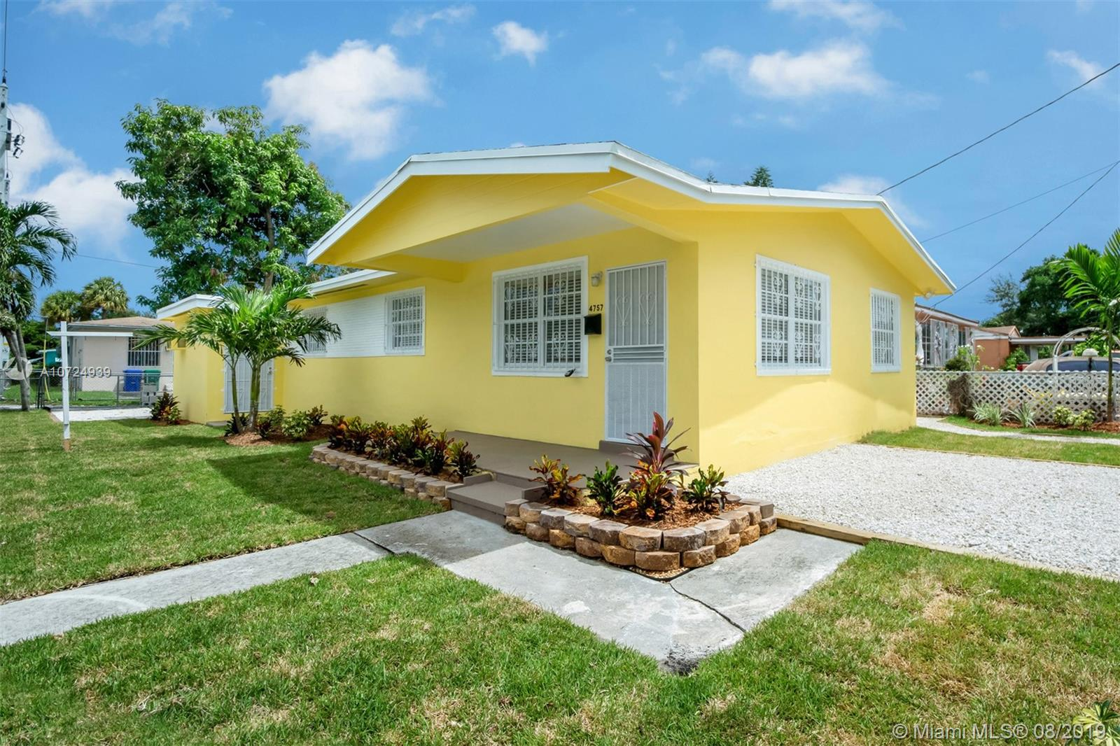 4757 NW 12th Ave  For Sale A10724939, FL