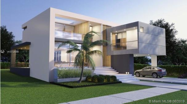 Be the first to live in this beautiful and modern upcoming new construction single family home. The project is green friendly, it comes with smart technology and high-end quality. This single family house has 6 bedrooms and 5. 1/2 bathrooms with open layouts. Italian kitchen with top of the line appliances. Pool, summer kitchen and solar panels ready. Area under AC 3800 SQFT. Completion date: APRIL 2021