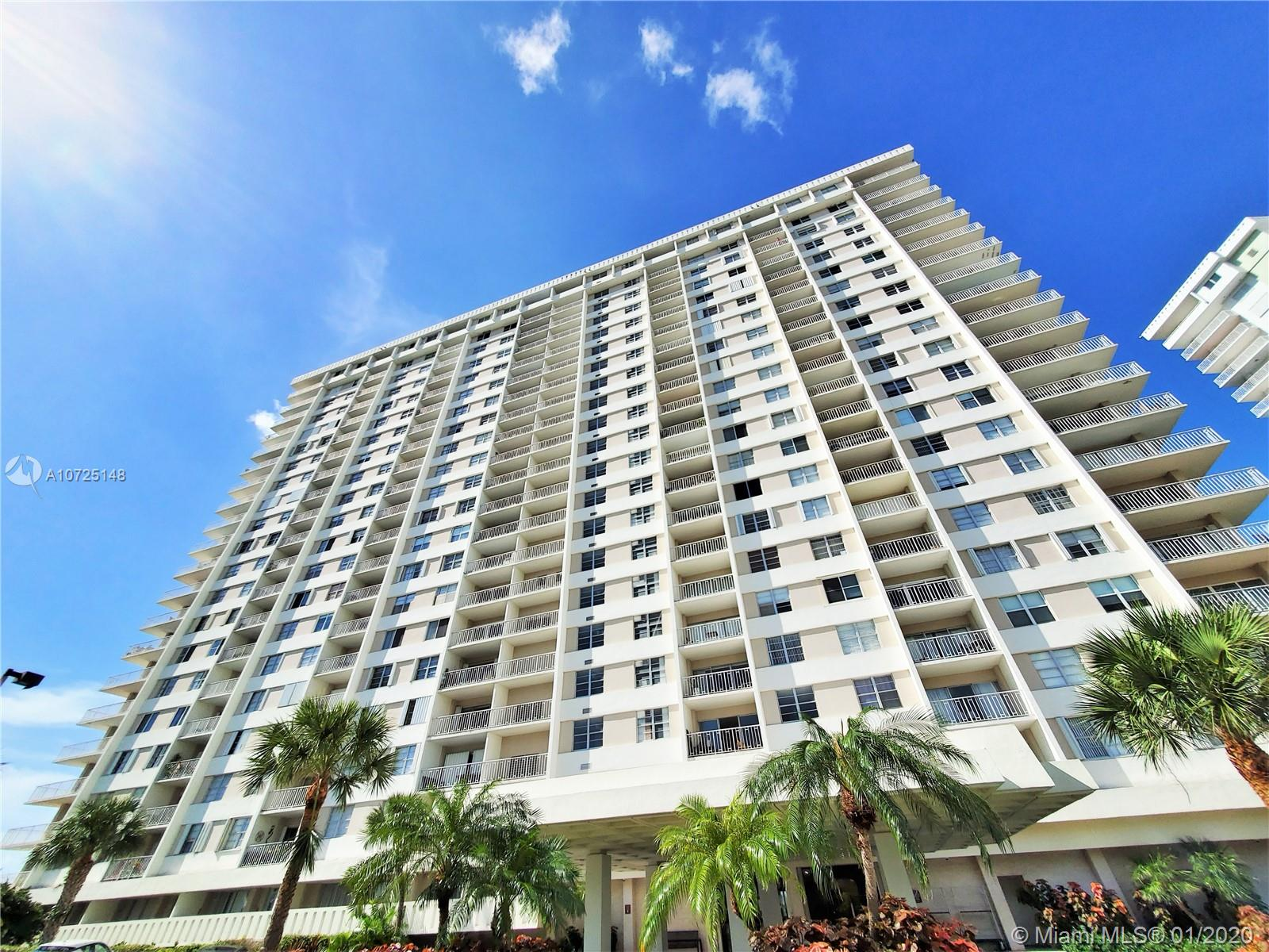300  Bayview Dr #1614 For Sale A10725148, FL