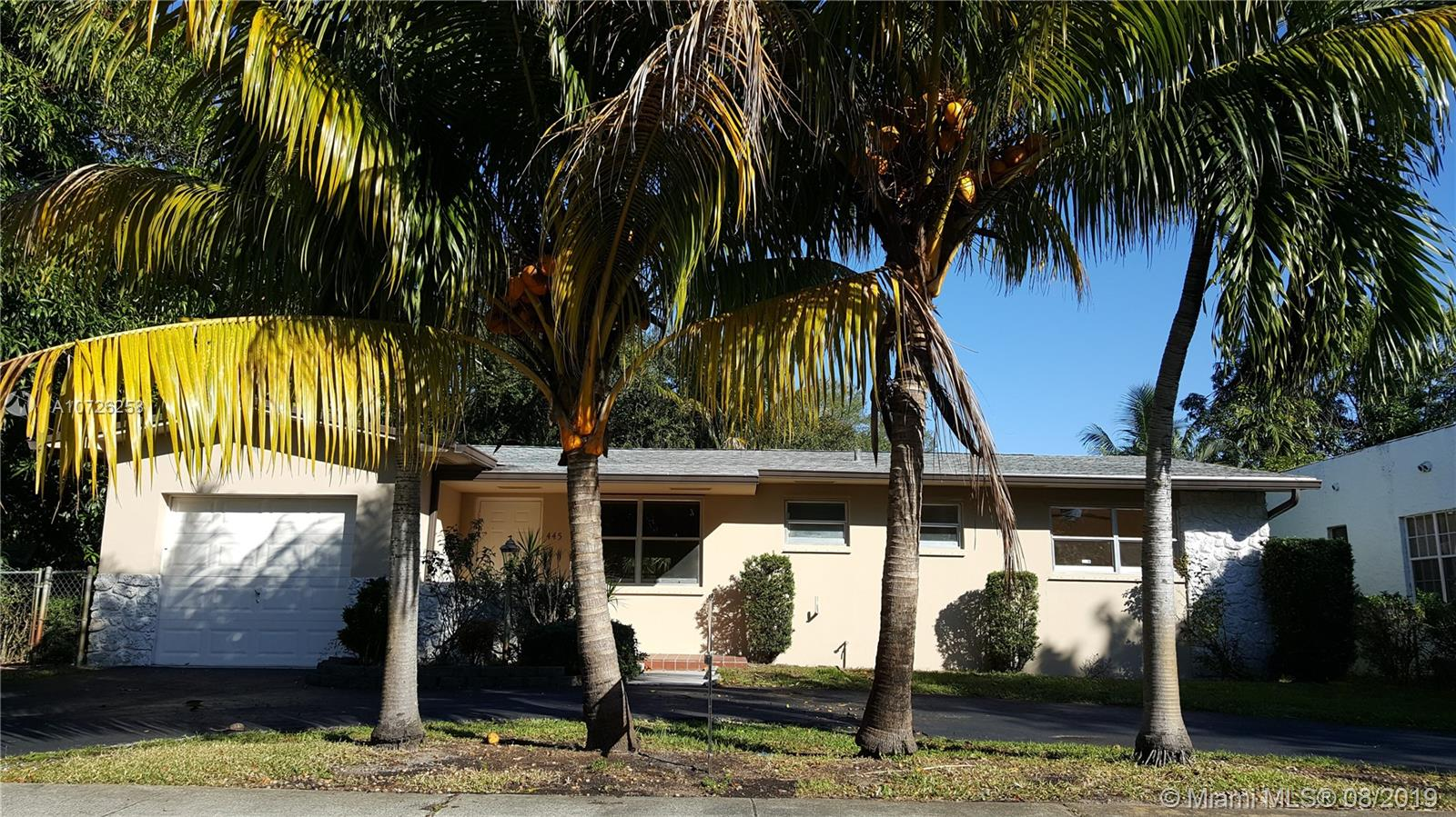445 N E 131st St  For Sale A10726258, FL