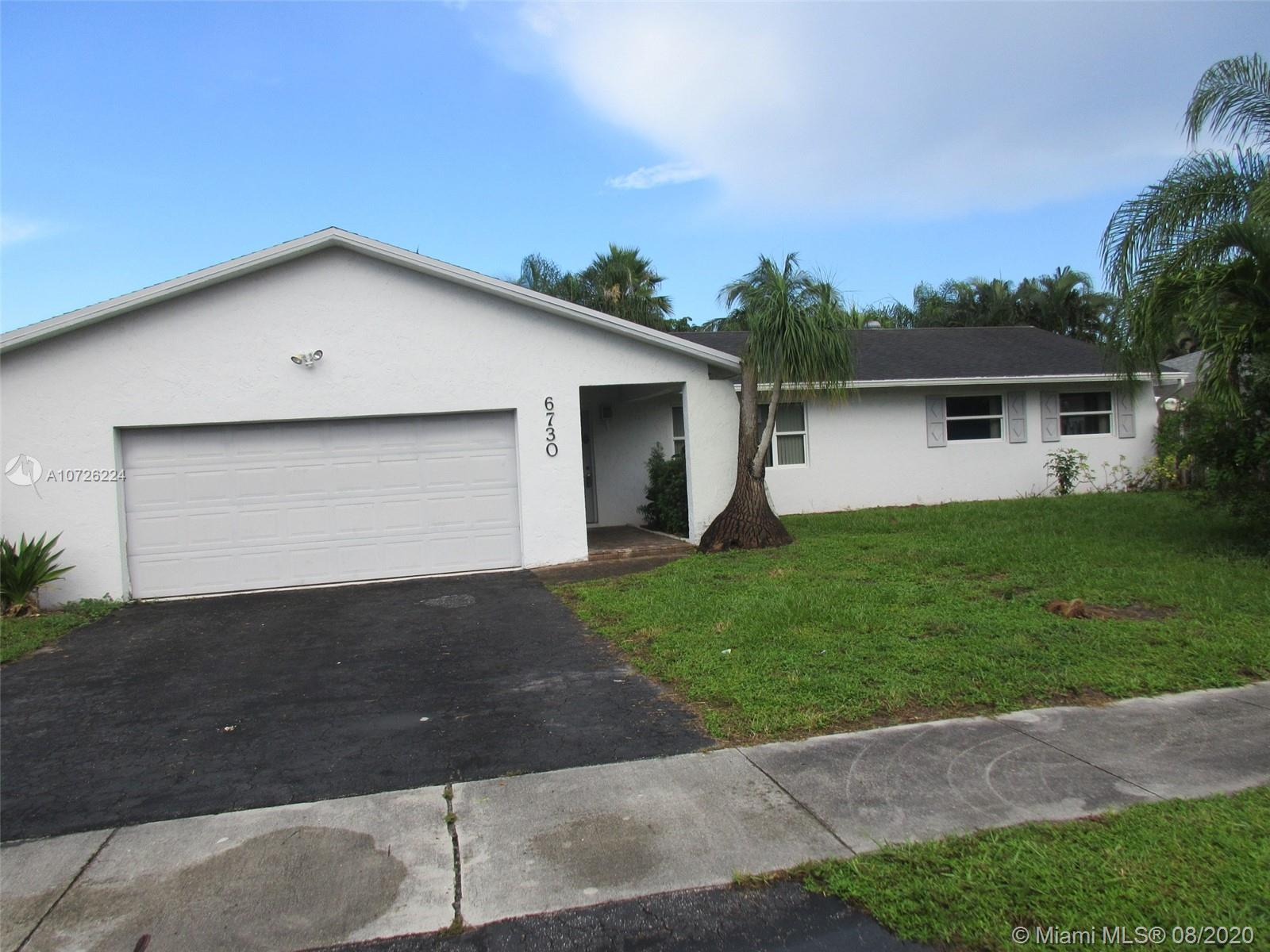 6730 N W 26th Ter  For Sale A10726224, FL