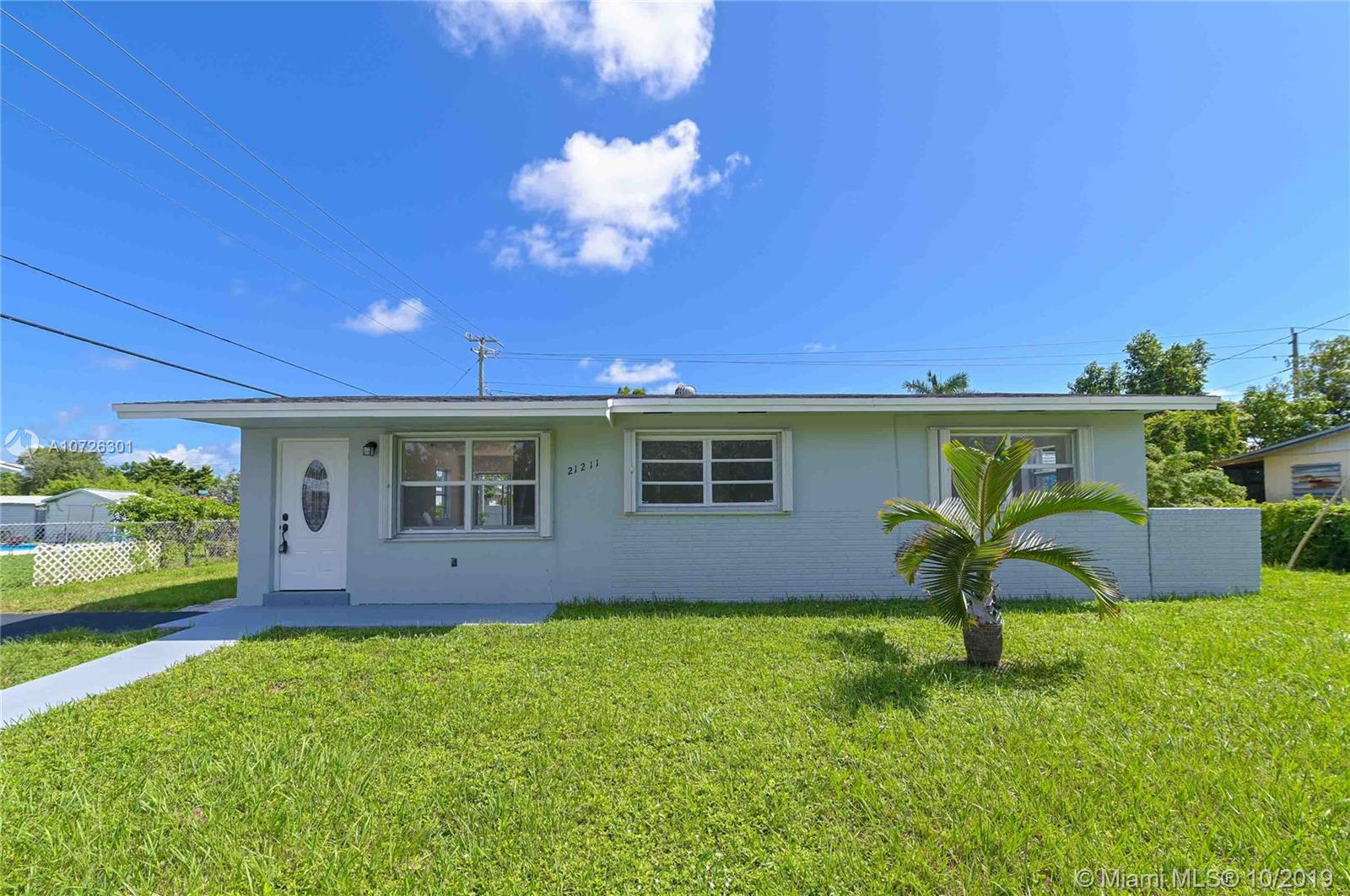 21211 SW 99th Ct  For Sale A10726301, FL