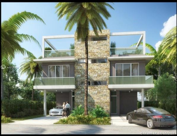 Modern pre-construction townhome with the latest technology. 3bedroom/ 3.5 bathrooms comes with private pool. This is a LEED Green certified townhome. 1300 SF under AC High end finishes, Roof top terrace. Completion date: April 2021 • 2 story Townhomes plus rooftop. • 3 bedrooms • 2 1/2 bathrooms • 2 parking spaces