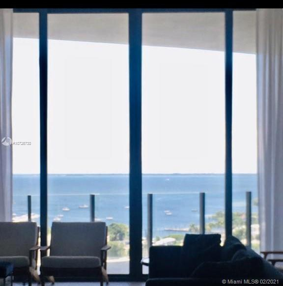 Brand new unit with amazing bay view. Luxury residences feature Italian cabinetry, stone countertops, Sub Zero Wolf appliances, expansive bay & city views. Certified LEED Silver. Floor to ceiling 12 ft glass walls and bay front towers. Amenities feature 24 hour concierge and valet service. Adult gaming room with Billiards and table tennis. Bay view dining room. Business center with private dining rooms. State of the art fitness center including private training rooms, spa and sauna for each residential tower. Large conference room with video conference and integrated media systems, library/ lounge area, private screening room. Wine cellar and wine lockers, Children's outdoor and indoor play area, indoor/outdoor yoga spaces, pools with private cabanas, bike and watercraft storage.