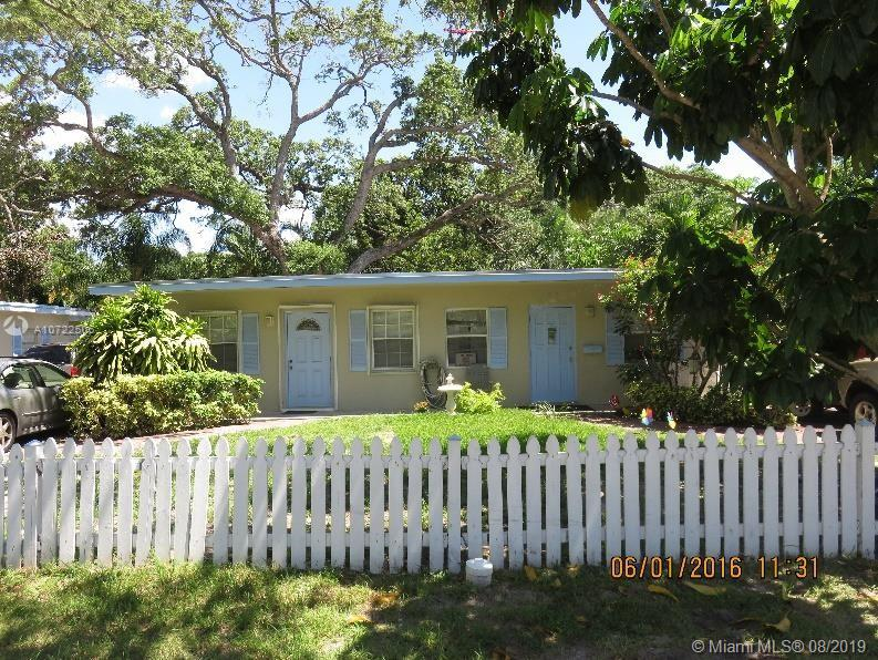 Great opportunity for investors. TURNKEY MONEY-MAKER. CENTRALLY LOCATED. All units are mostly updated. Two units are almost entirely updated with hurricane impact glass. Showers are updated as of 2016-2019. These units are good earners and Currently Rented. Quiet neighborhood minutes from very desirable places like Downtown Ft. Lauderdale, Beaches, Airport, and all major highways (95, 595, Turnpike). When they go on market, the units rarely last more than 5-7 days before getting snapped up.Spacious shared back yard that is attractive to tenants for outdoor use.PLEASE DO NOT DISTURB TENANTS