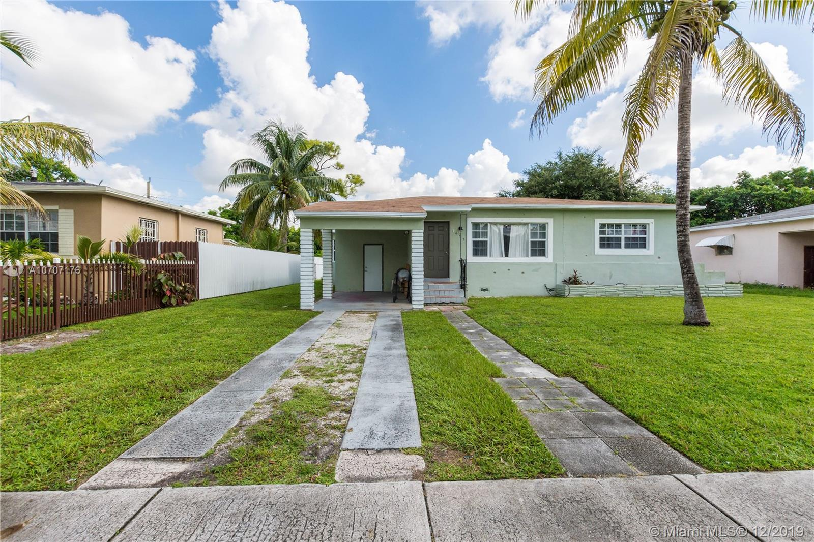 1055 N W 132nd St  For Sale A10707176, FL