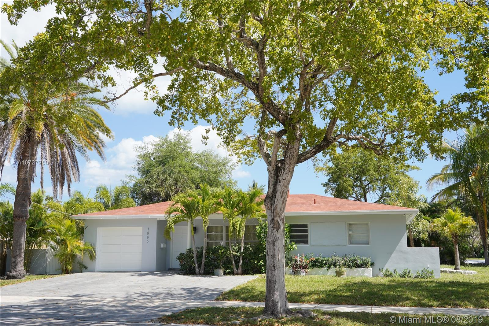 1865 S Hibiscus Dr  For Sale A10727950, FL