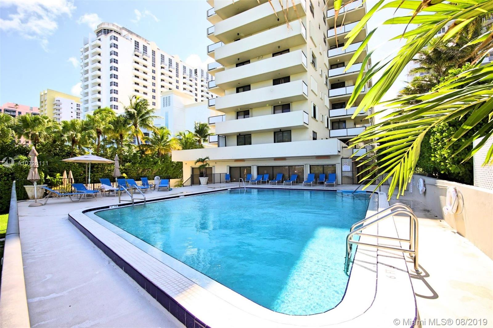 1621  Collins Ave #301 For Sale A10728111, FL