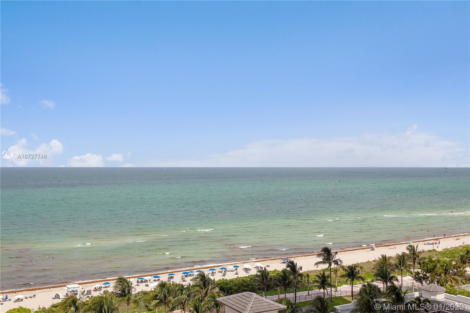 Enjoy breathtaking views of the ocean, bay and city from this SW corner fully furnished 2 bedrooms/2 baths at the Blue Diamond. This apartment offers: floor to ceiling glass windows, marble floors, wood floors in bedrooms, eat-in kitchen with granite countertops, living and dining room, walk in closets and wraparound balcony. The Blue & Green Diamond offer unsurpassed amenities including 24 hour security, valet, concierge, tennis courts, large pool with towel service, café/market w/room service, a 16,000 SF Oceanside clubhouse & more.