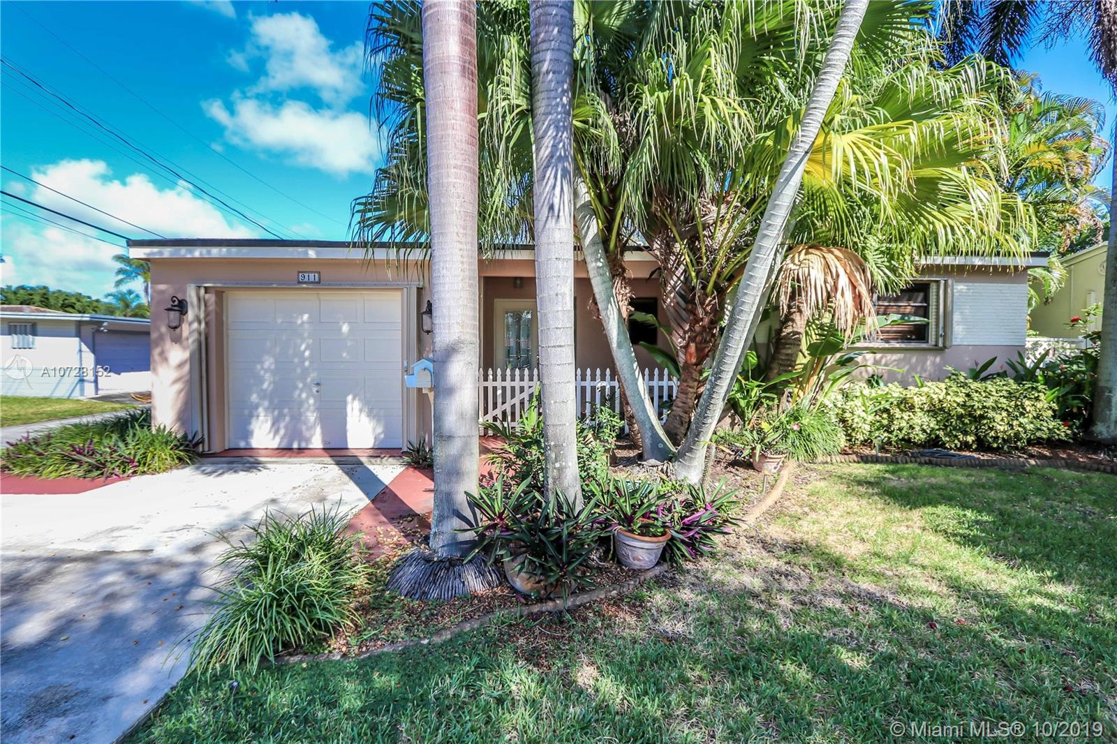 911 N Park Rd  For Sale A10728152, FL