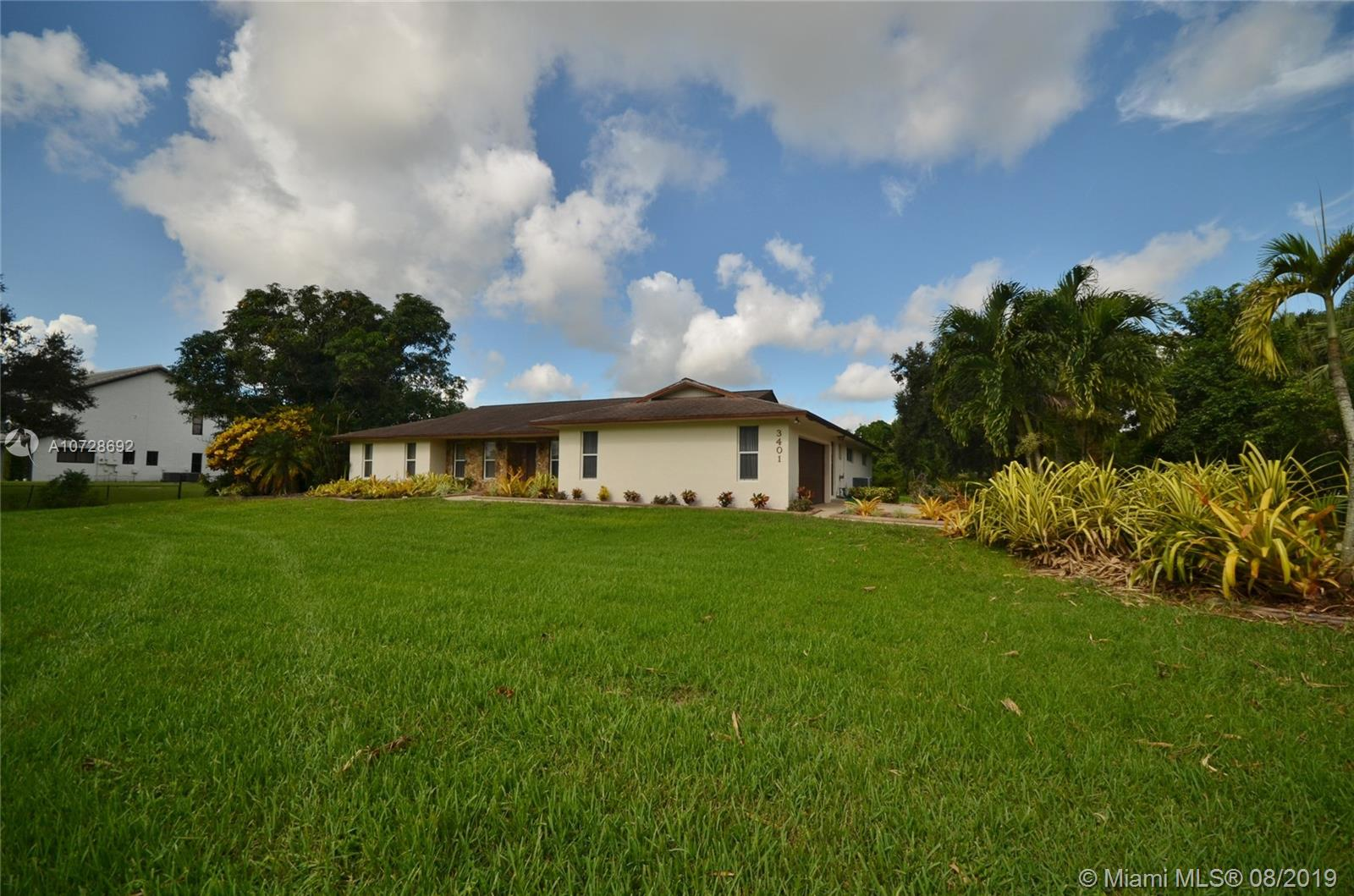 3401 SW 117th Ave  For Sale A10728692, FL