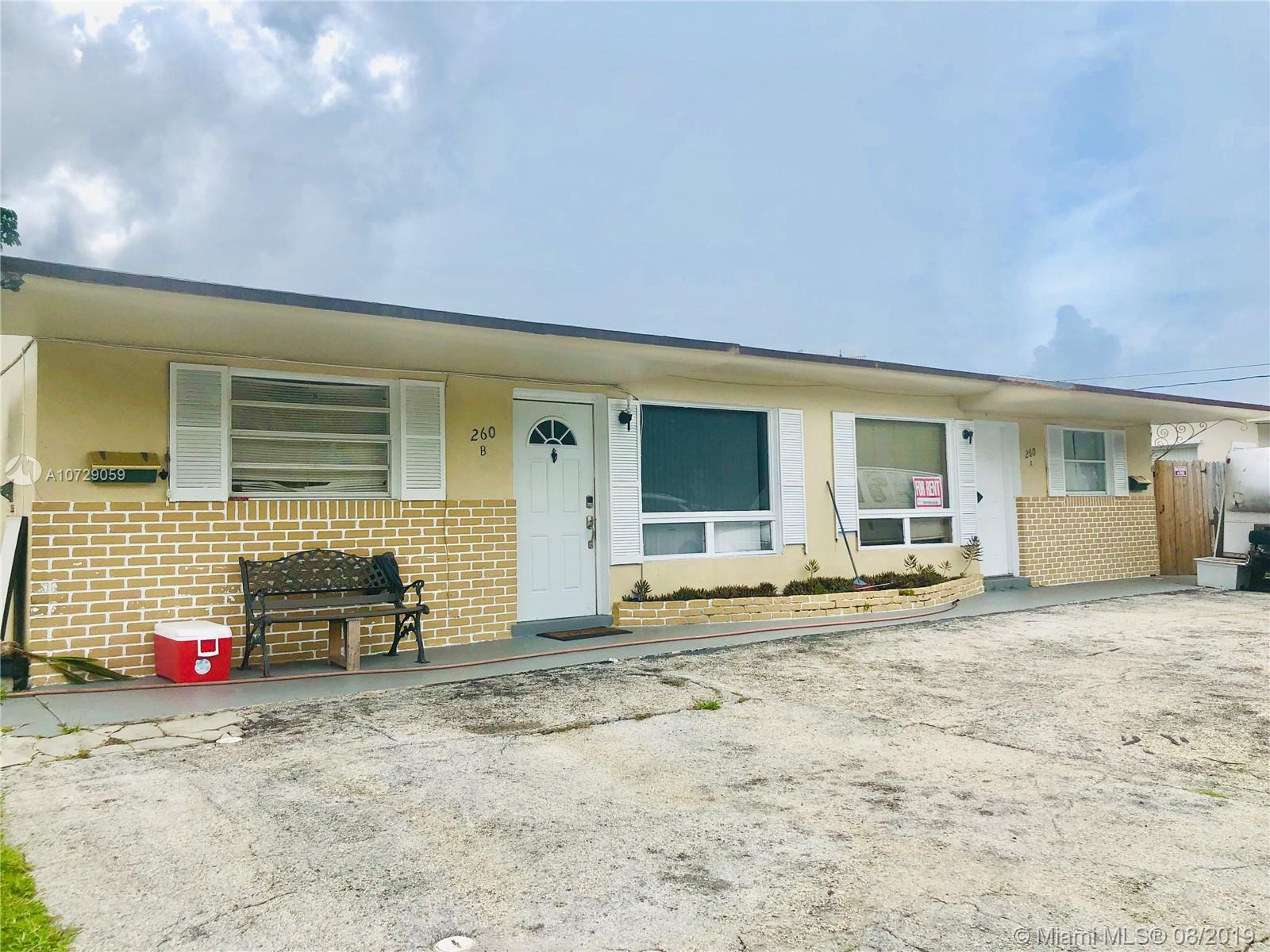 260 SW 8th Ave  For Sale A10729059, FL