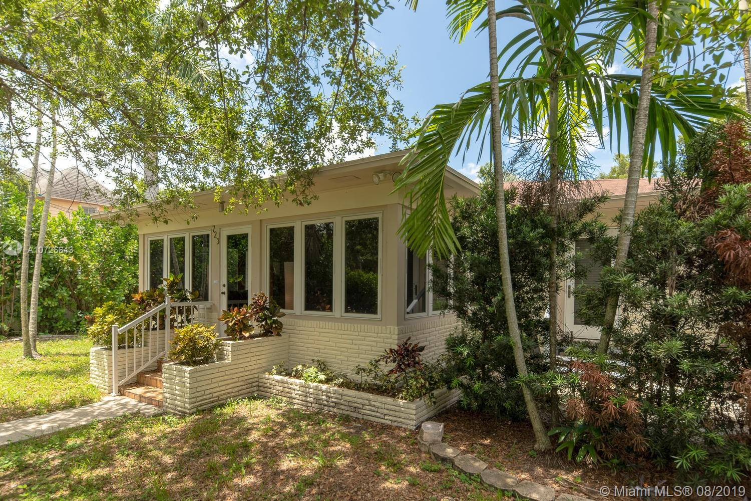 Amazing downtown/Sailboat Bend location! 11,000+ SQ FT lot.  Main House approximately 2000 sq ft 3 bedrooms & 2 bathroom. Separate detached garage approx. +900 sf laundry/bonus room. No HOA restrictions - park multiple cars. Over 1/4 acre lot w/ room for pool. Miami-Dade Approved Hurricane Impact Windows and Doors. New porcelain tile floors. Walk to Himmarshee Historic District's shops and restaurants, Las Olas Riverfront, & Cooley's Landing Marine Facility.