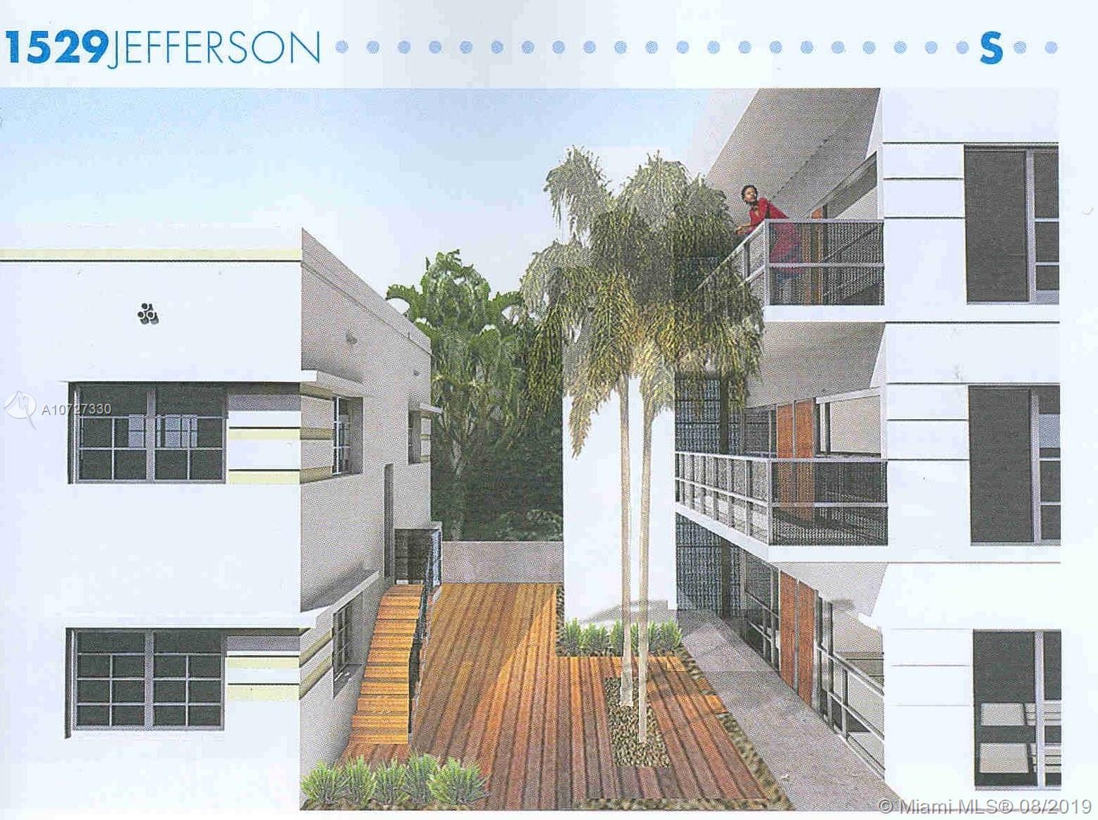 1529  Jefferson Ave  For Sale A10727330, FL