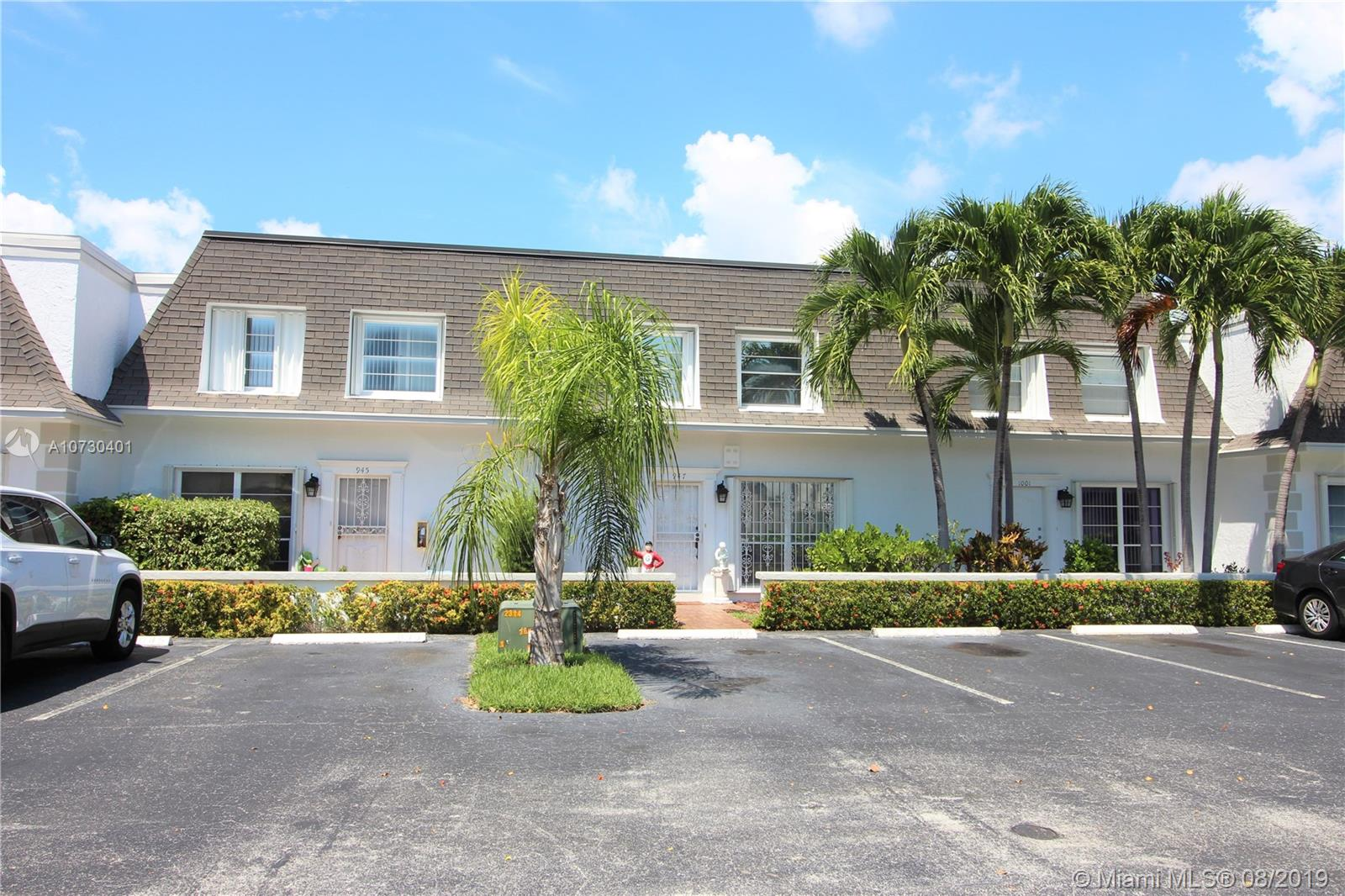 947 NE 26th Ave #947 For Sale A10730401, FL