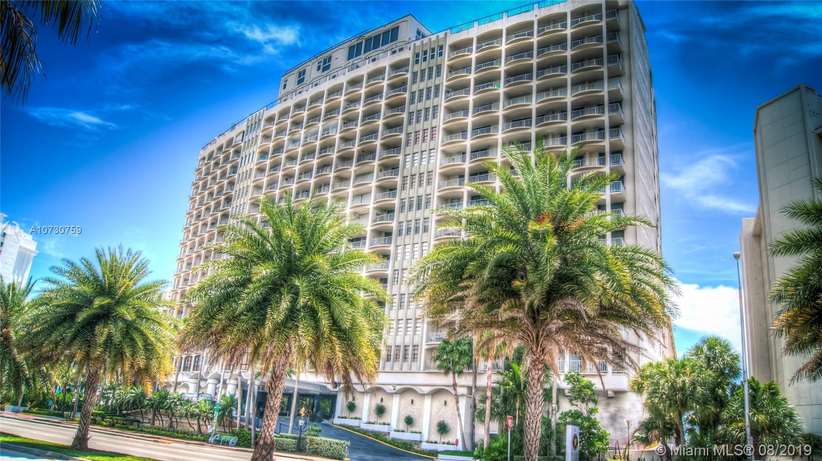 5401  Collins Ave #911 For Sale A10730759, FL
