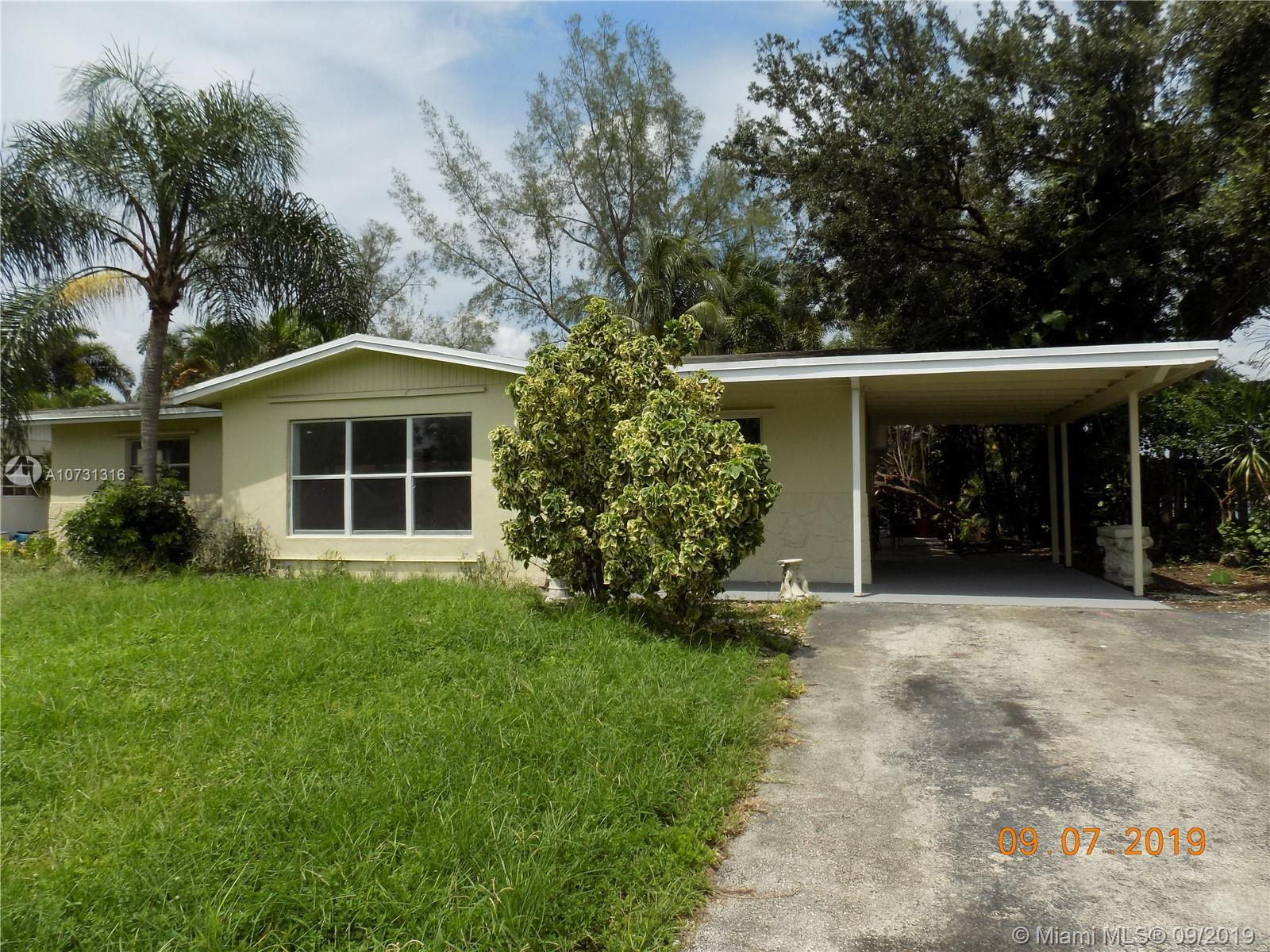 5321 SW 57th St  For Sale A10731316, FL