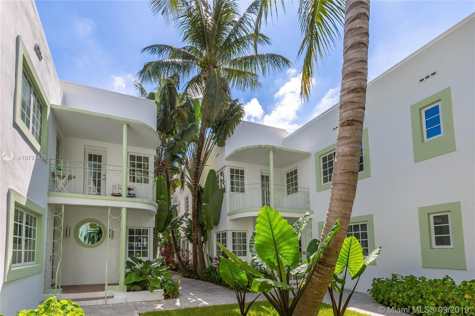1207  Meridian Ave #10 For Sale A10731420, FL