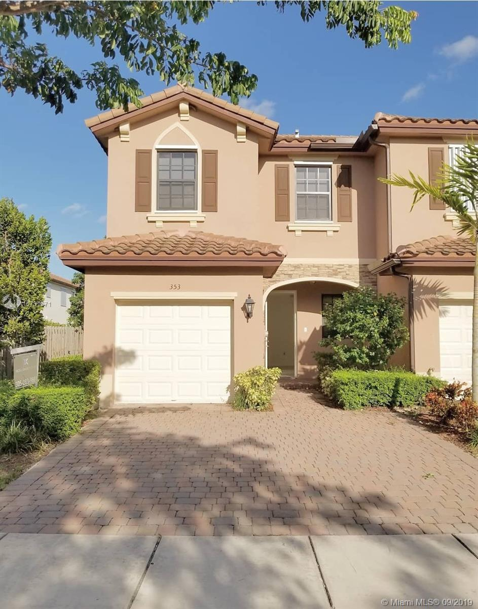 Beautiful new townhouse for rent. Wont Last!!! Great amenities : Pool, Gym and  kids playground. Commission 50% of the first month rent. PLEASE CALL LISTING AGENT FOR SHOWING. NO SMOKERRent to own for qualified buyers.