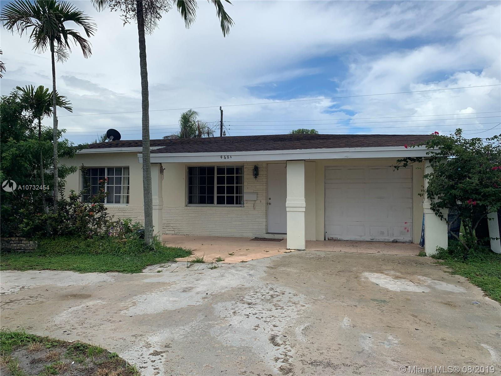 *This 2/1 features a remodeled kitchen, wooden cabinets**Stainless Steel appliances**Impact Windows**Plenty space for parking**Back is ample perfect for entertaining**Roof and AC 2014**PRICE IS NEGOTIABLE** Do not disturb tenants*