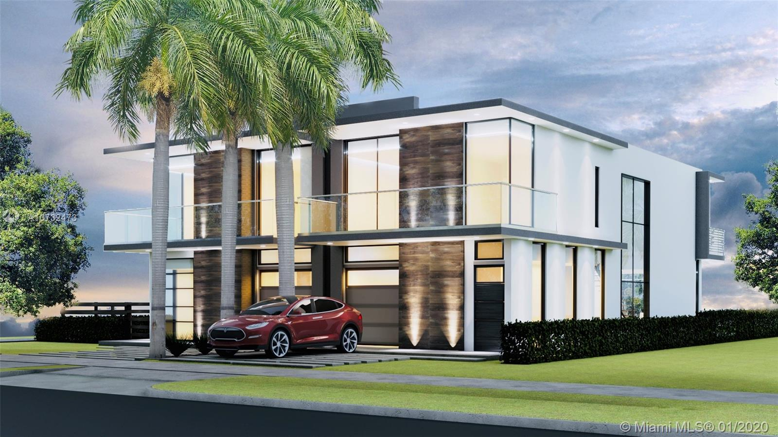 Introducing The Estates at Coral Ridge (2514 A) where iconic contemporary architecture meets a luxurious lifestyle. Designed by a world-famous and awarded architect & designer specifically with exquisite interior design, style, and modern elegance. A brand new and now already under construction boutique attached family homes within a walking distance from Fort Lauderdale Beach. The Estates at Coral Ridge exclusively offer 4 luxurious two-story modern attached family homes with private swimming pools to each resident, 10-foot ceilings and floor to ceiling impact glass windows. Other features include state of the art European upscale appliances, glass balcony railings, elegant staircases, open space floor plan, fenced backyard, and optional upgrades. Expected delivery summer of 2020.