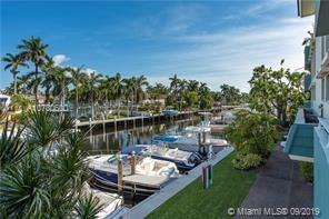 Large 2/2 waterfront unit with unrestricted ocean acesss located in boutique building on prestigious Isle of Venice.  Recently renovated,this unit has beautiful modern touches throughout. What an opportunity to enjoy water views from the expansive living areas and balcony. This unit has a deeded dock that can accommodate a 45' boat and two deeded parking spaces and storage unit.  Walking distance to Las Olas and the beaches. A unique find.