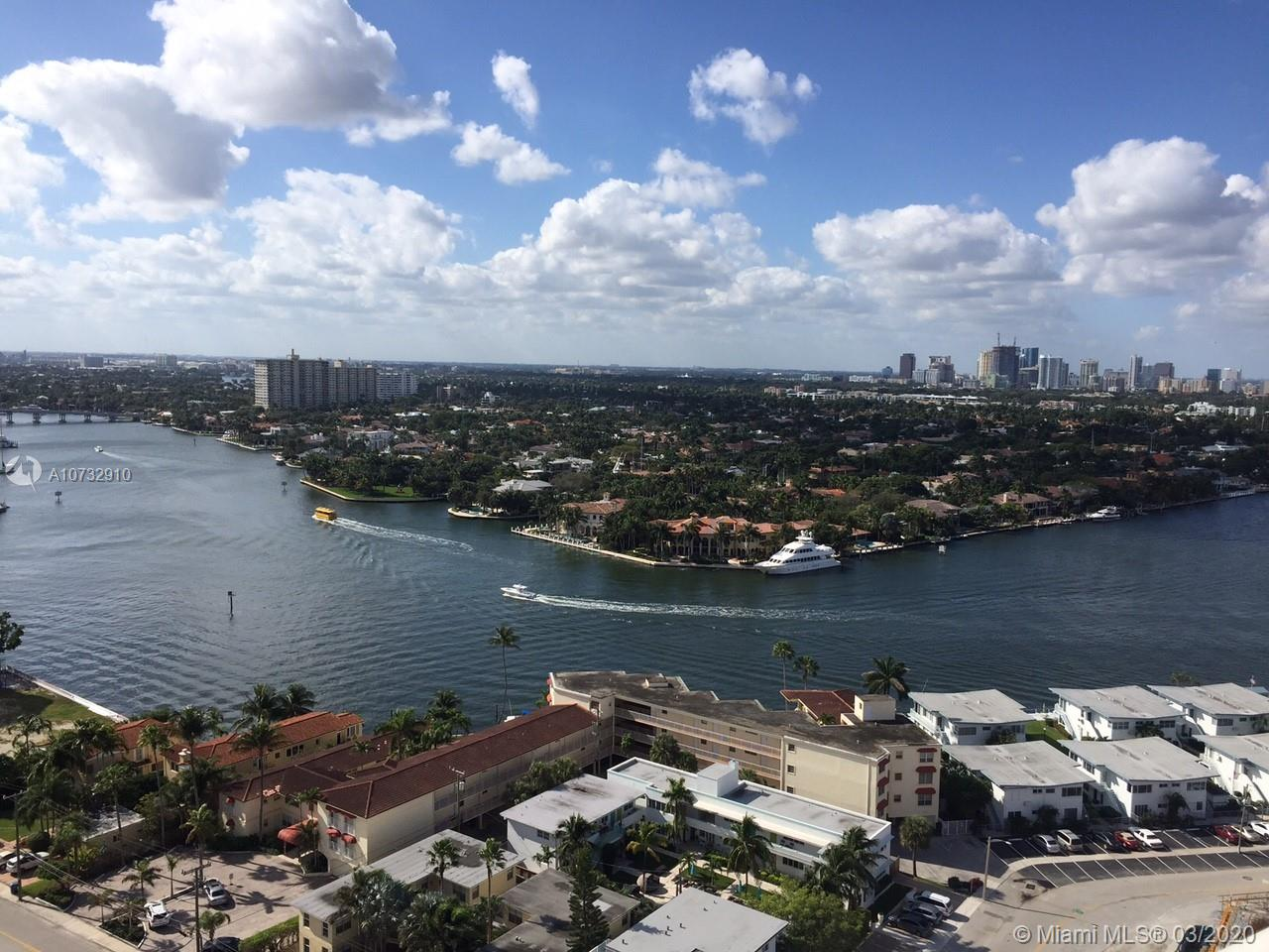 Magnificent Unit at the Newly Renovated W at Ft Lauderdale. Enjoy 1 bedroom 1 Bathroom furnished unit complete renovate by world-renowned design firm, Meyer Davis. Magnificent 9-foot floor-to-ceiling windows, Atlantic Ocean and Intracoastal Waterway views, sliding glass doors onto spacious balconies, living and dining areas entertainment system.  Access to all Hotel Luxury Amenities: Fitness Center, Hotel Pool, 954 Restaurant, Whiskey Bar, SPA and Salon, exercise room and more.  Rent it yourself or through the Hotel Program.  Estimate between $42K and $44K per year in Net rental income.